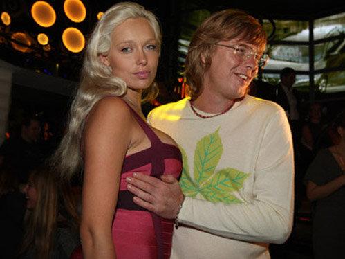 Андрей Григорьев-Аполлонов с женой Машей. Фото: KP.RU