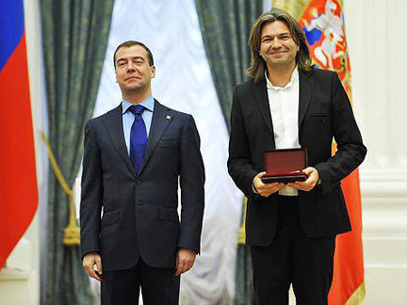 Дмитрий Медведев и Дмитрий Маликов