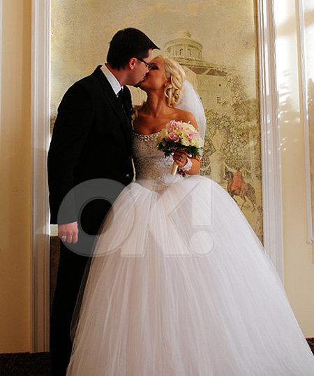 Молодые расписались после четырёх лет совместной жизни в гражданском браке