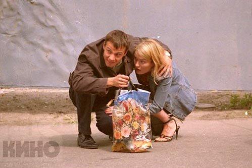 С супругой Викторией в мелодраме «Май» (фото ruskino.ru)