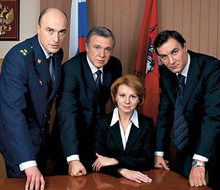 С коллегами по сериалу «Закон и порядок»