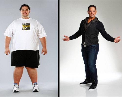 Майк Вентрелла (30 лет). Начальный вес: 238 кг. Похудел до 118 кг. Потерял: 119 кг.
