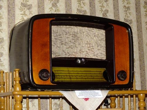 Радиоприёмник 1950-х годов. Источник: wikipedia.org