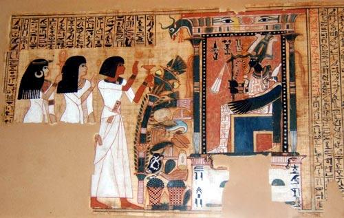 Часть Книги Мертвых писца Небеда, под властью Аменофиса III (1391-1353 гг. До н. Э.). Фото: wikimedia.org