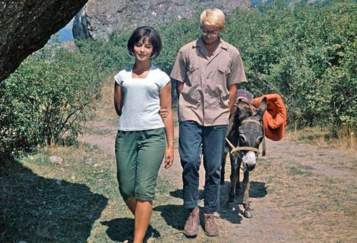 Кадр из фильма «Кавказская пленница, или Новые приключения Шурика», 1967 г.