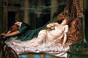 Реджинальд Артур. Смерть Клеопатры
