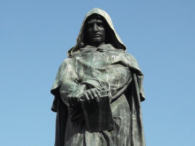 Памятник Джордано Бруно в Риме. wikimedia