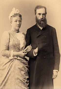Вера Николаевна и Павел Третьяков. Фото: wikimedia