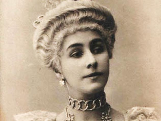 Кшесинская в костюме к балету «Камарго»