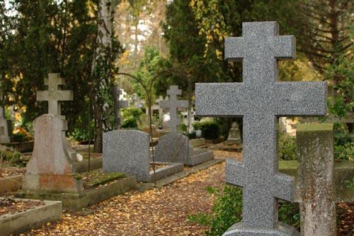 Русское кладбище Сент-Женевьев-де-Буа. Фото: flickr.com