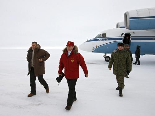Владимир Путин на Земле Франца-Иосифа, 2010 г. Фото: kremlin.ru