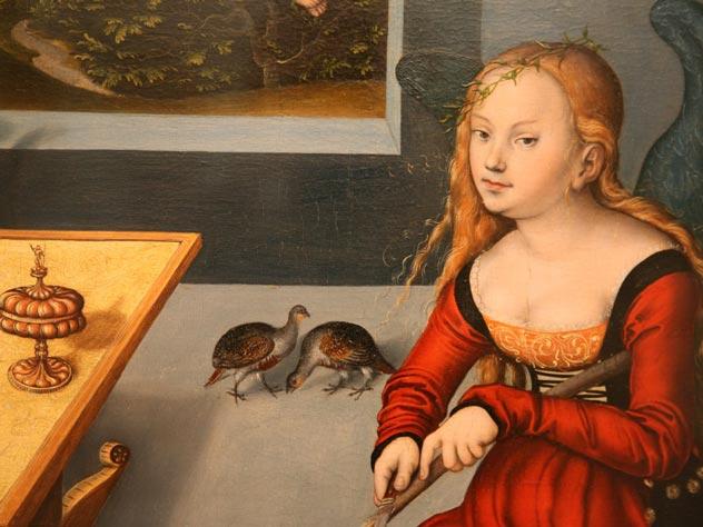 Лукас Кранах Старший. Меланхолия. 1532 год