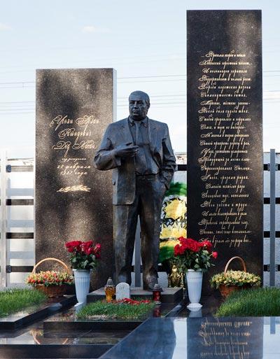 Могила Аслана Усояна (Деда Хасана) на Хованском кладбище в Москве. Wikimedia Commons / Dmitry Rozhkov