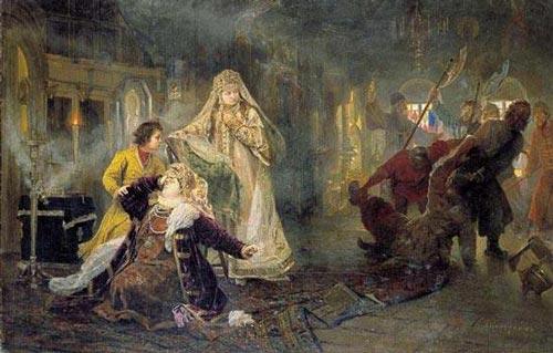 А. Корзухин. Мятеж стрельцов в 1682 году. wikipedia