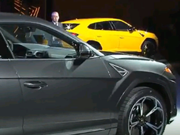 Lamborghini представила 1-ый вистории быстрый джип Urus