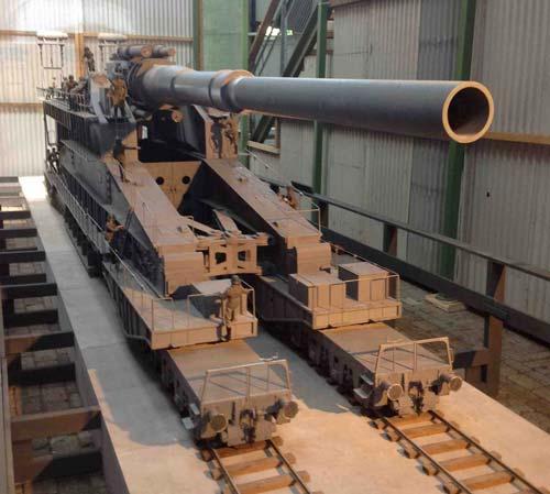 «Дора», немецкое супероружие времен Второй мировой войны. Экспонат Spoorwegmuseum в Утрехте, Нидерланды. Фото: wikimedia.org