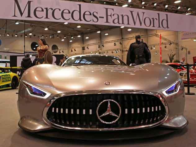 Названы самые известные  автомобили класса люкс в Российской Федерации