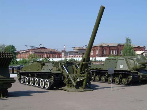 ВОренбургской области завершились учения насамоходных минометах «Тюльпан»