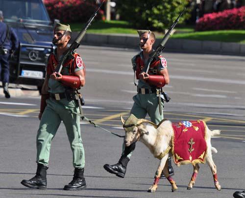 Талисман Испанского легиона. flickr.com