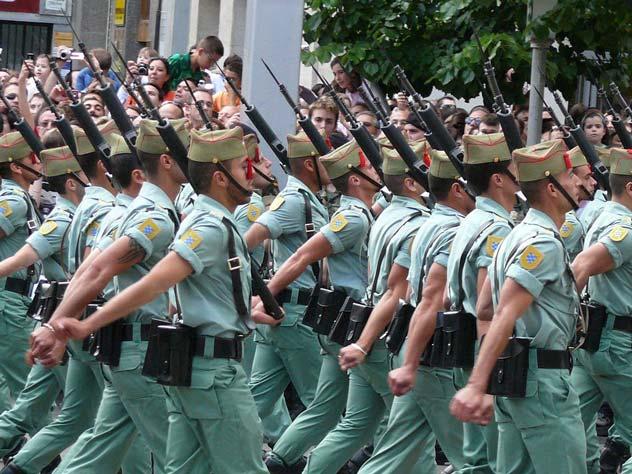 Легион на параде. 2008. wikipedia