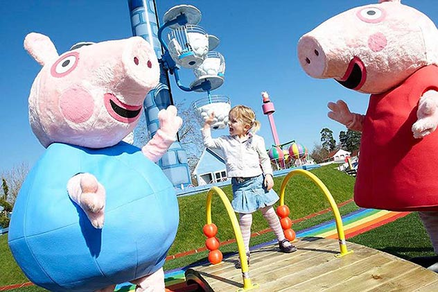 Свинка Пеппа подложила свинью самарским бизнесменам