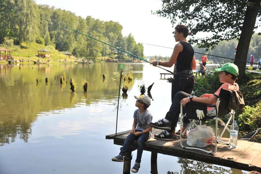 Рыбалка на озёрах в севастополе