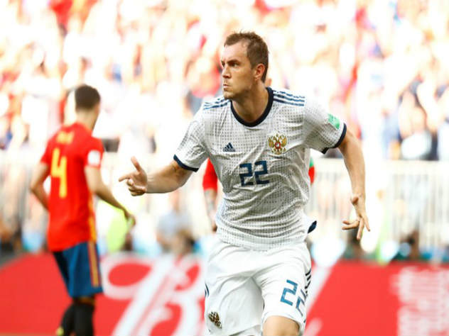 Россия забила гол «Красной фурии». 1:1