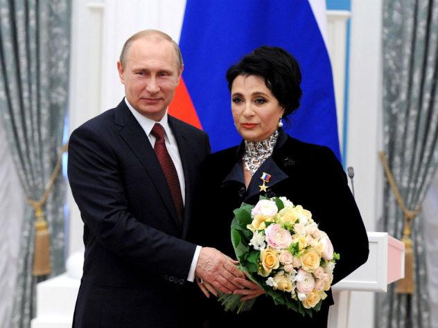 Путин удостоил ордена Ирину Винер — Винер-Усманова Кабаева