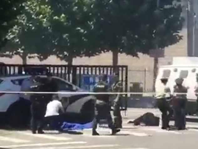 Взрыв у посольства США в Пекине совершил мужчина