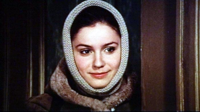 Марина Зудина в фильме «Валентин и Валентина», 1985 г.