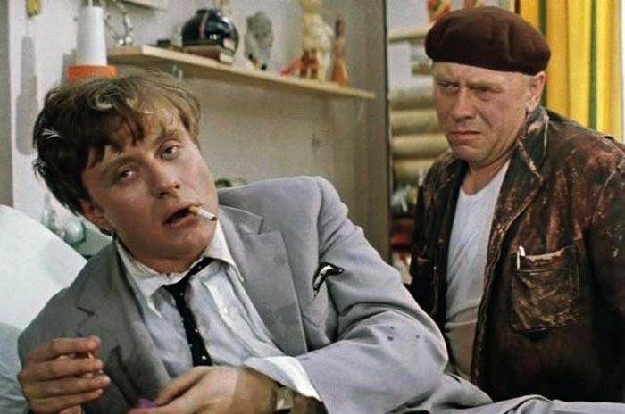 Кадр из фильма «Бриллиантовая рука». Андрей Миронов и Анатолий Папанов