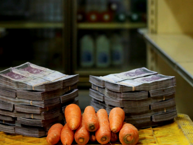 Инфляция в Венесуэле, инфляция в Зимбабве, инфляция в России, новые санкции США, обвал рубля