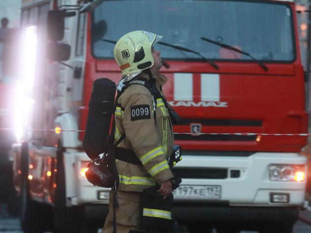 В Москве в здании Банка России возник пожар