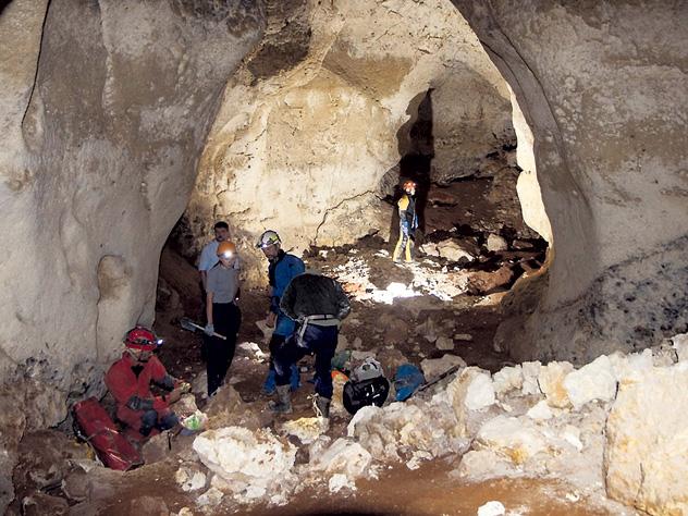 Специалисты надеются найти в подземелье скелеты неандертальцев