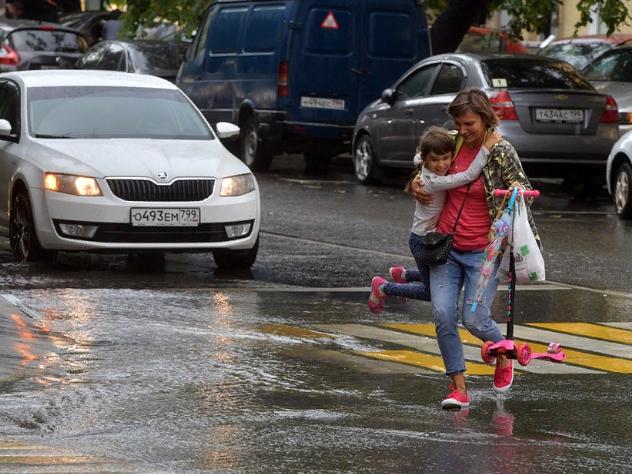 погода в Москве 18 сентября