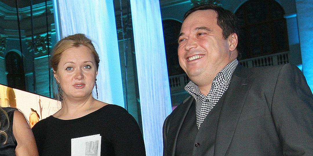 Анна Михалкова с мужем
