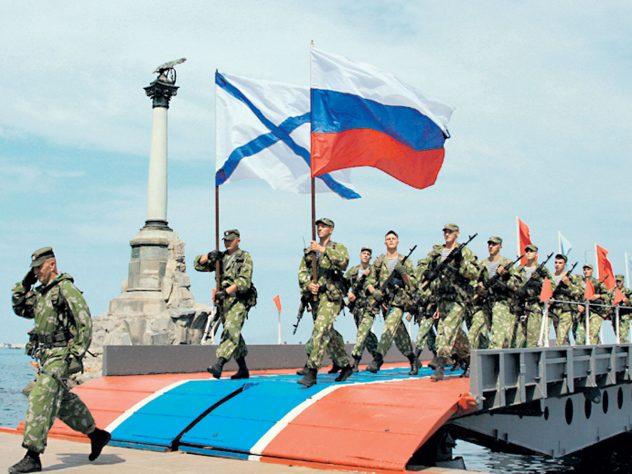 Нога американского оккупанта больше не ступит на российский полуостров