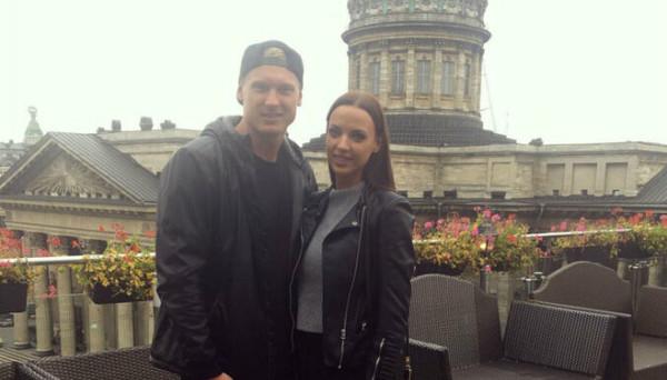 Янис Тимма с женой Саной
