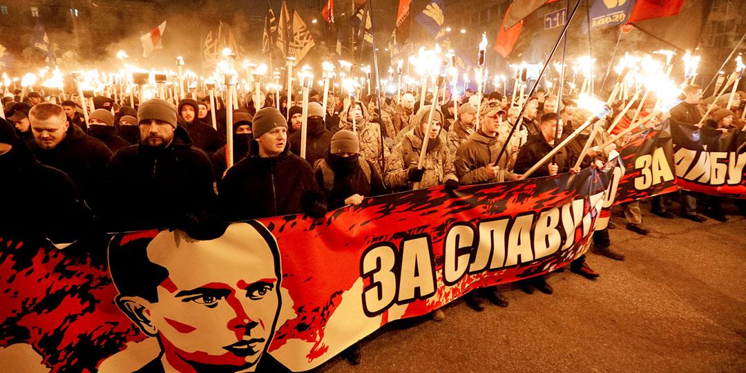 Правнуки русофилов во Львове теперь считают себя бандеровцами. Фото: © Reuters
