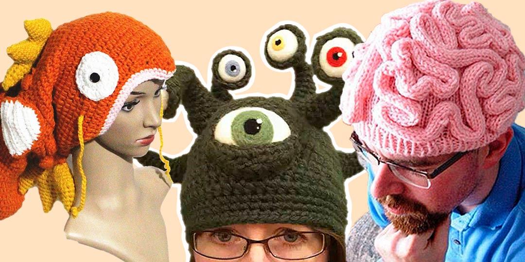 Смешные шапки на «Алиэкспресс»