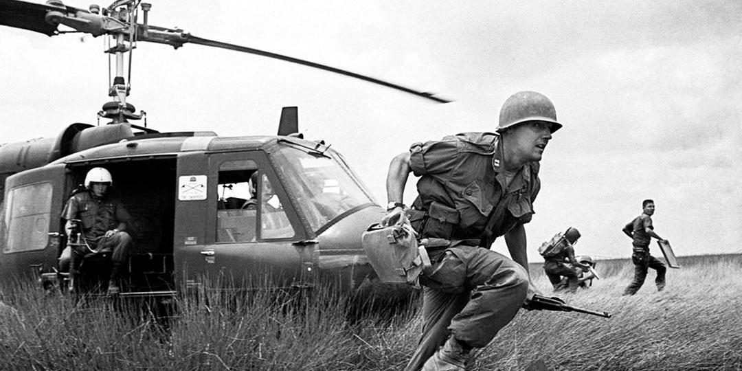Вертолёты на вьетнамской войне были главным оружием. Фото: wikipedia.org
