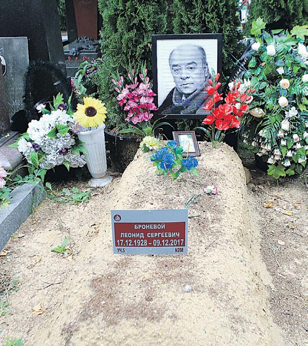 Журналист рассказал: во время похорон по недосмотру ритуальной службы гроб с телом народного артиста СССР Леонида Броневого установили вверх ногами. Фото Руслана Вороного