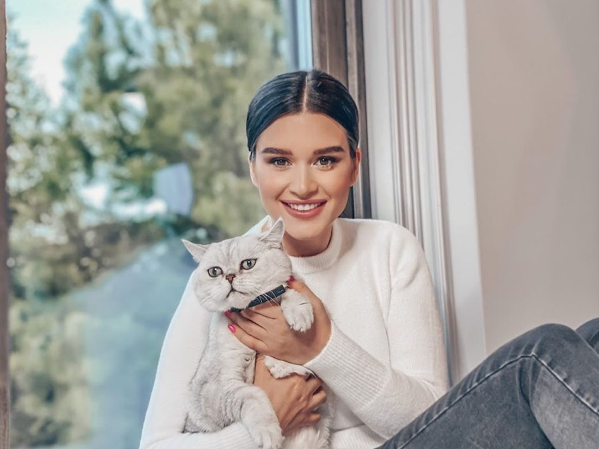 Бородина бросила кота Шанти