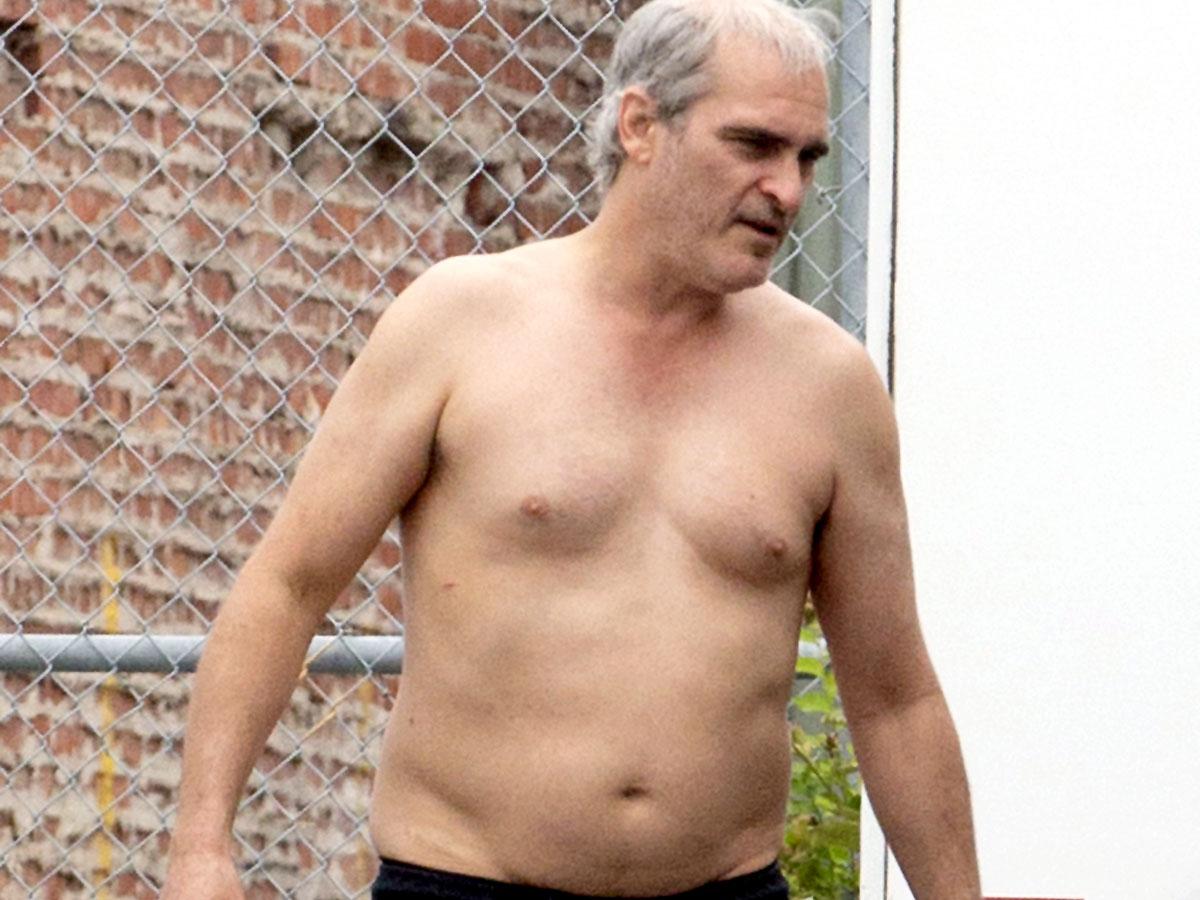 Ради новой роли Хоакин Феникс оброс жирком